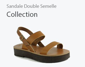 sandale double semelle