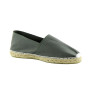 espadrille-thaddee-made in france-bayonne-gris-main 2